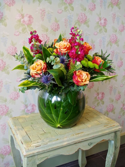 Fish Bowl Arrangement